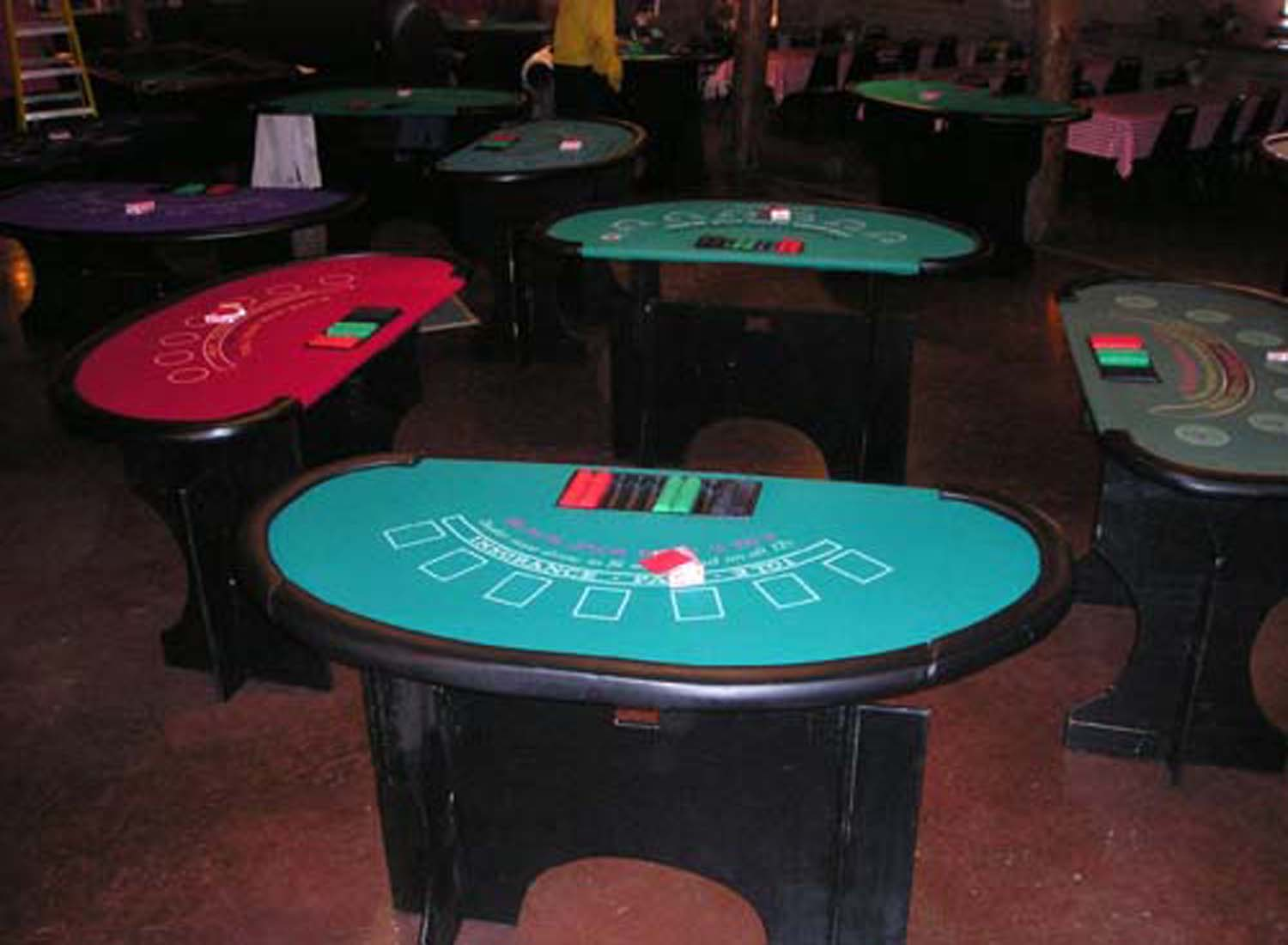 Arizona Casino Knghts: Casino Night Blackjack Tables, Casino Party