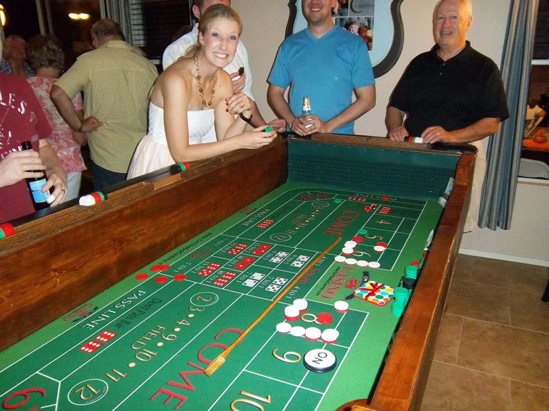Where do I get the casino night prizes?
