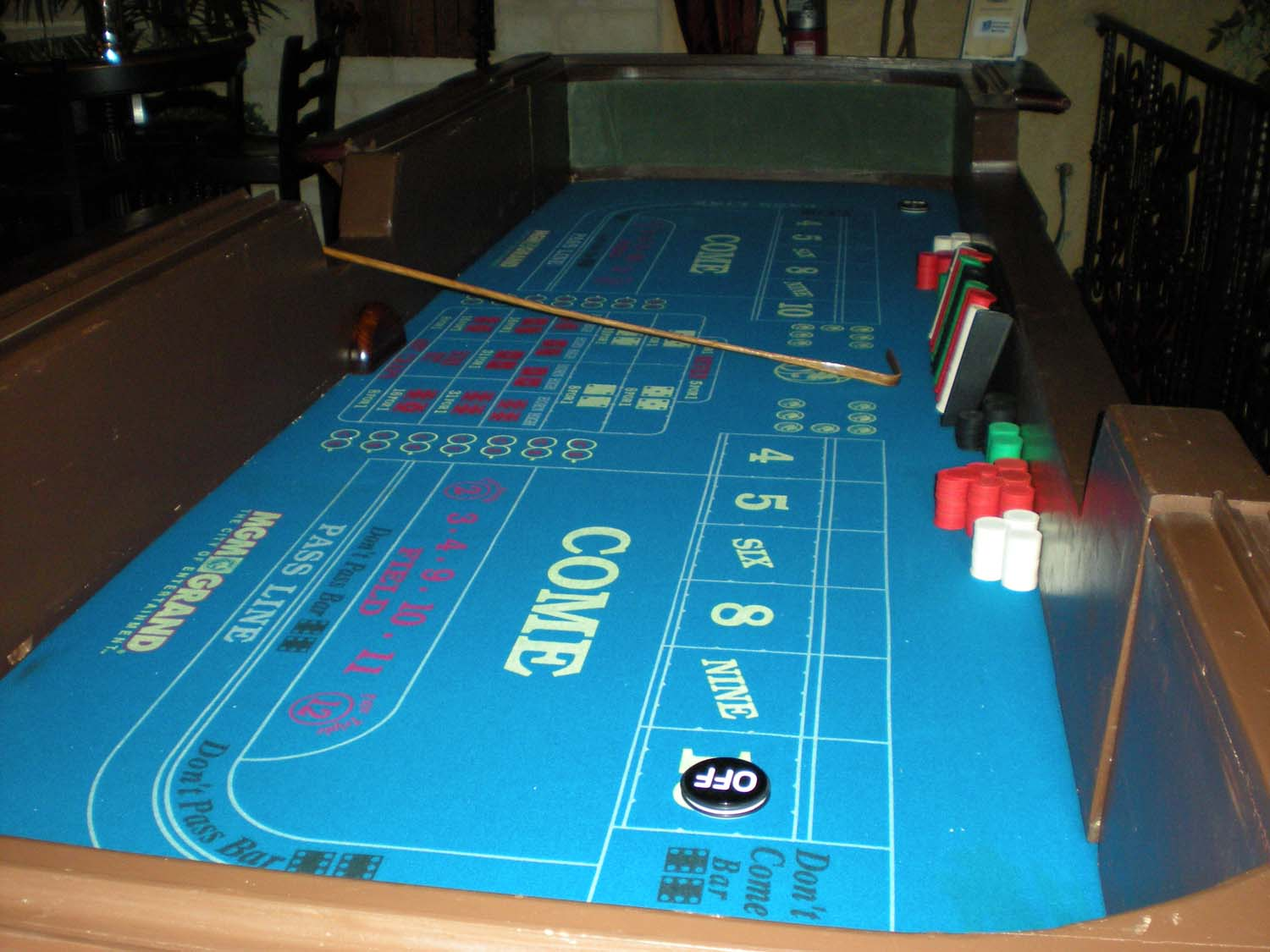 Playing craps at home