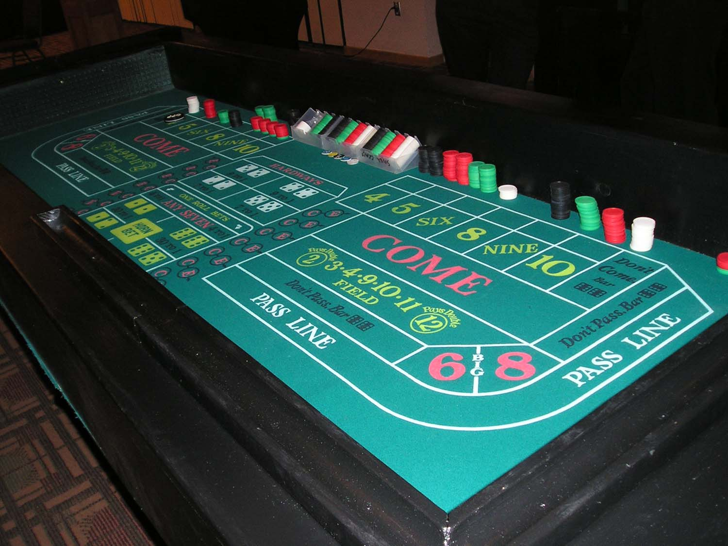 Table de craps occasion i have lost everything gambling