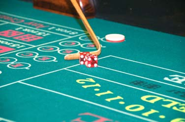 Craps is one of the casino party games Arizona Casino Knights provides for casino night events in Tucson, AZ
