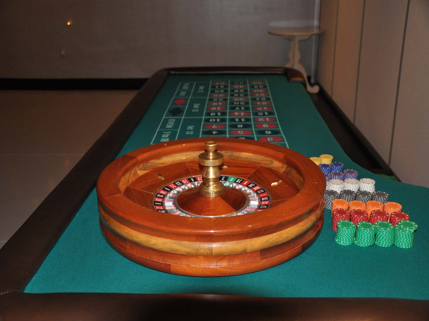 Roulette is one of the most popularcasino party games for casino night events in Tucson, AZ
