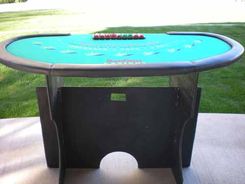 Casino Night Blackjack Table in Tucson