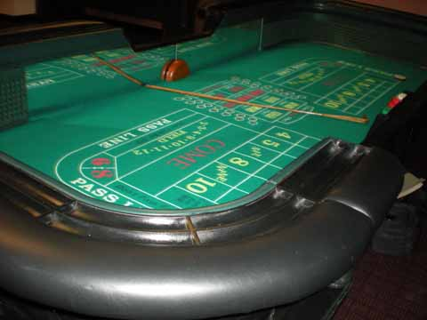 Casino Night Craps Table in Tucson