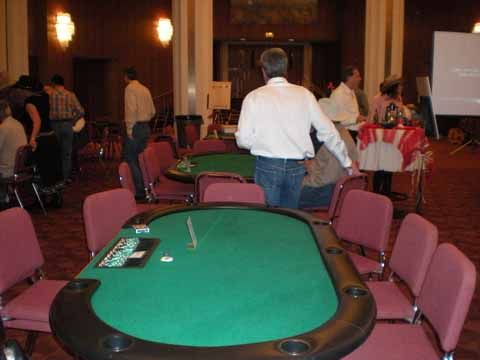 Casino Night Poker Table in Tucson
